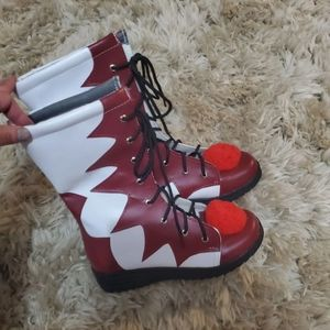 Halloween IT boots size 6